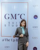 GMC STYLE ตัดสูท เสื้อเชิ้ต Prince Of Zodiac The Reality สูท+กระโปรงผู้หญิง สีเทาฟ้า4