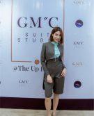 GMC STYLE ตัดสูท เสื้อเชิ้ต Prince Of Zodiac The Reality สูท+กระโปรงผู้หญิง สีเทาฟ้า6